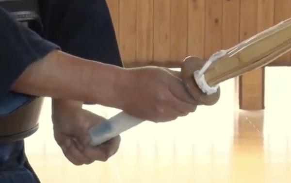 剣道の竹刀の正しい握り方とは? 握り方が手の内を決め、試合を左右する