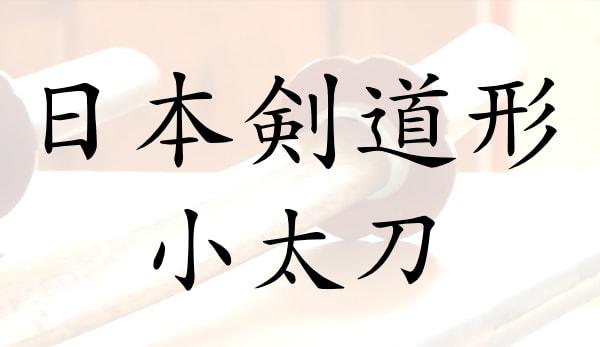 昇段・試合に役立つ日本剣道形(小太刀)の動画つき解説